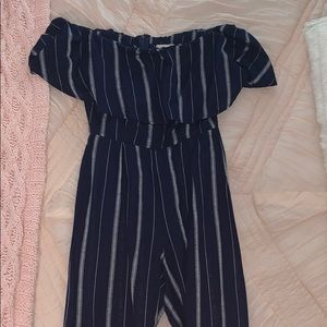 Altars state navy jumpsuit!